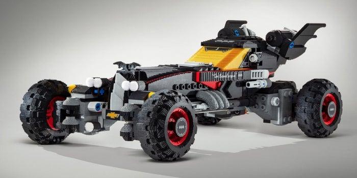 Holy Bricks! Chevy Builds Life-Sized Lego Batmobile
