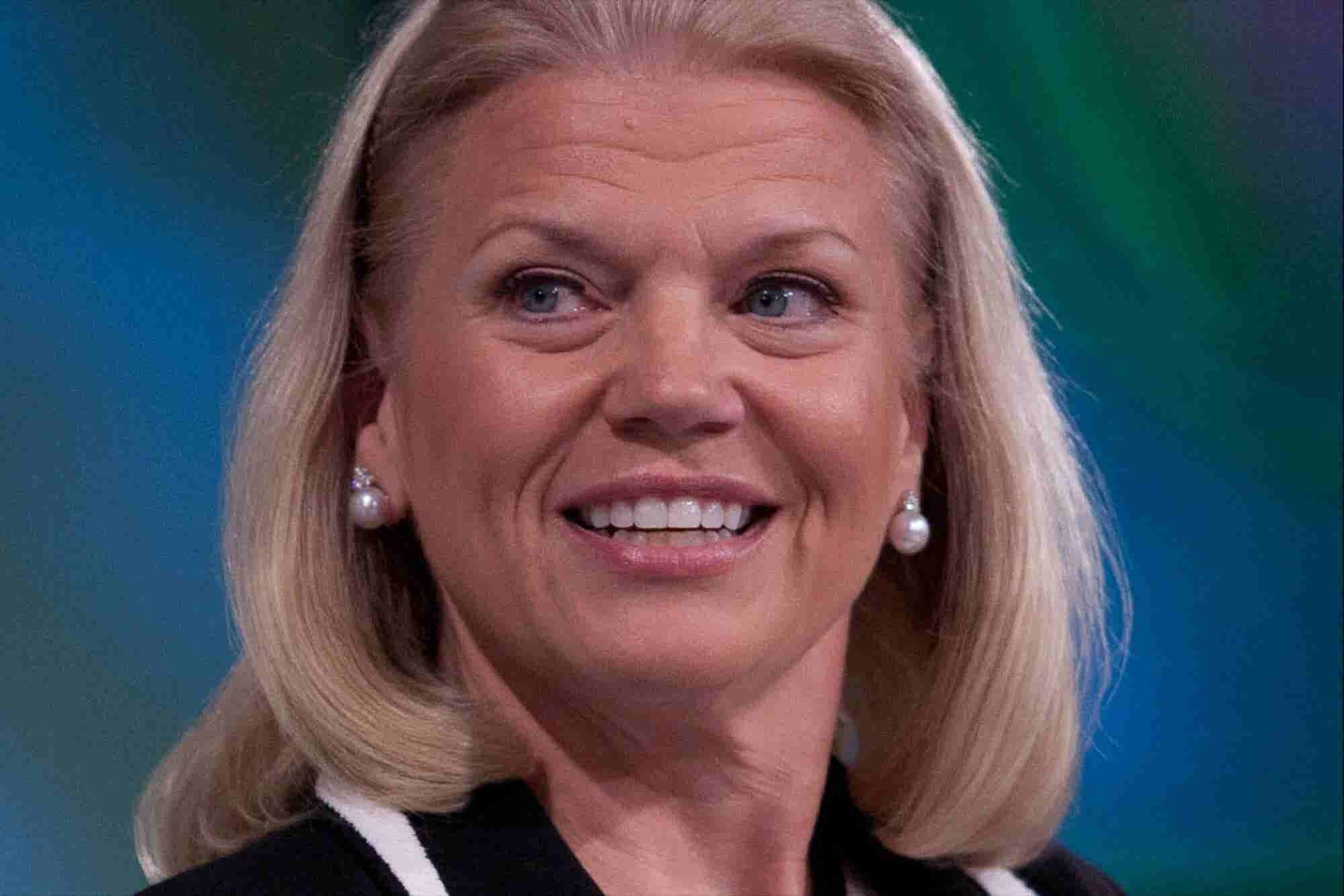 AI Will be A Partnership of Man And Machine, says IBM's Rometty at #WE...