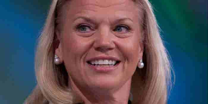 AI Will be A Partnership of Man And Machine, says IBM's Rometty at #WEF2017