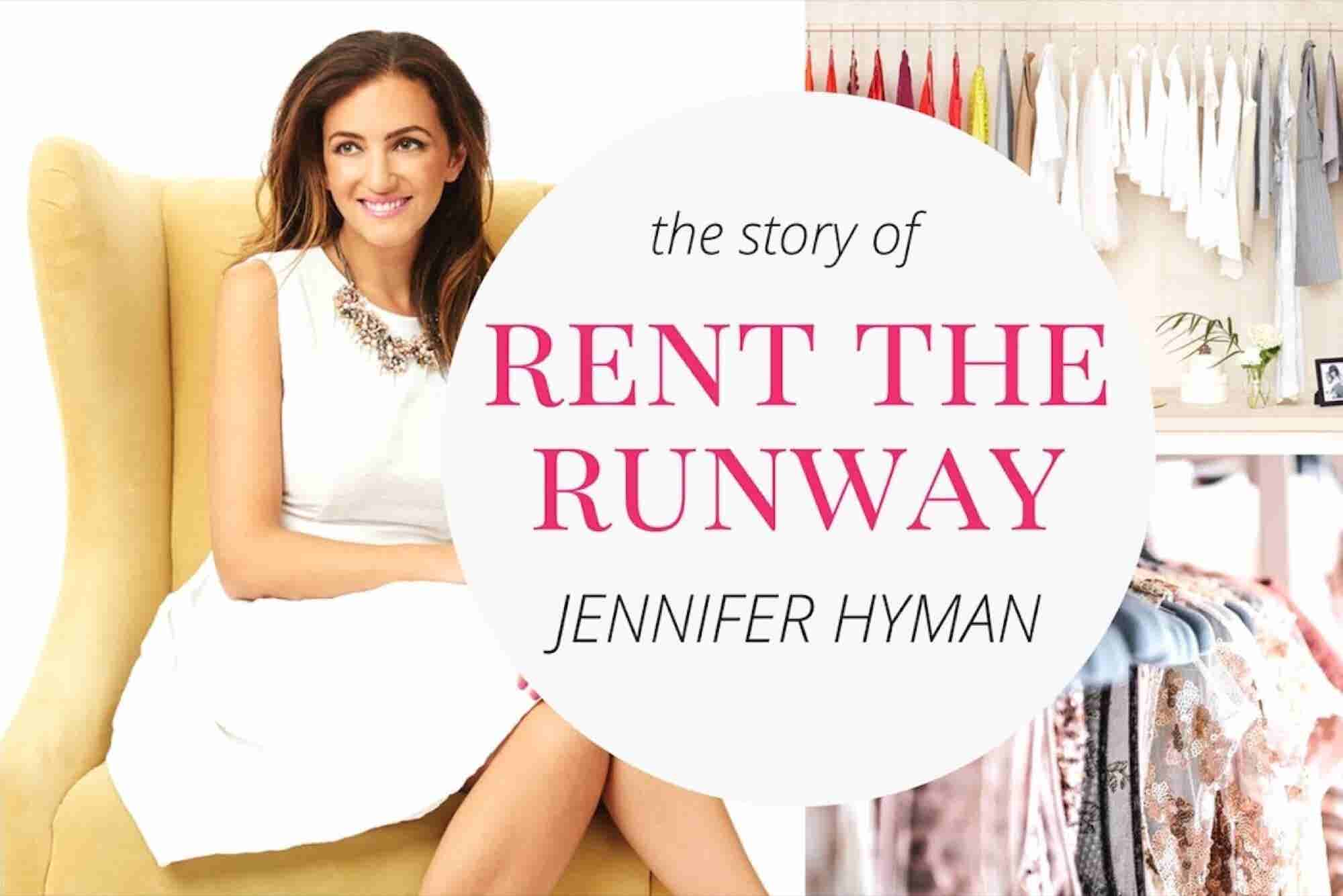 Entrepreneur Startup Stories: Jennifer Hyman, Rent the Runway