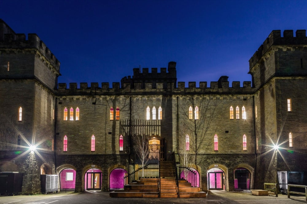 This Company Set Up an Amazing Office Inside a Historic Victorian Castle
