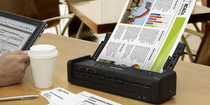 On The Go: Epson Launches Portable Scanners