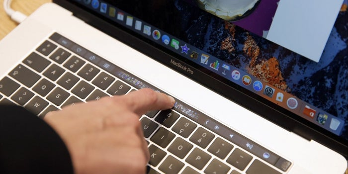MacBook Pro Touch Bar Banned From Multiple State Bar Exams