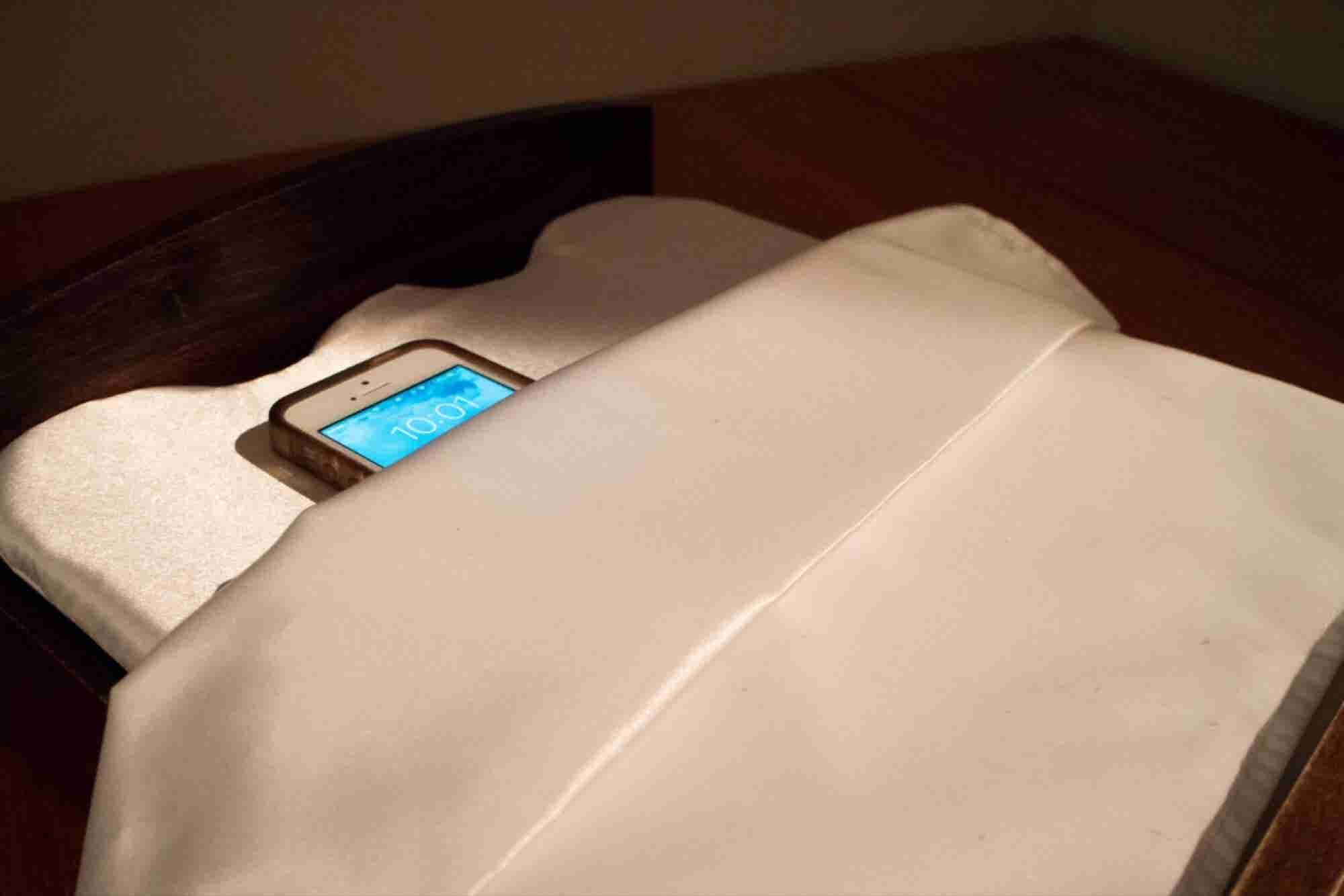 This Tiny $100 Bed Charges Your Phone -- and Helped Me Get My Best Nig...