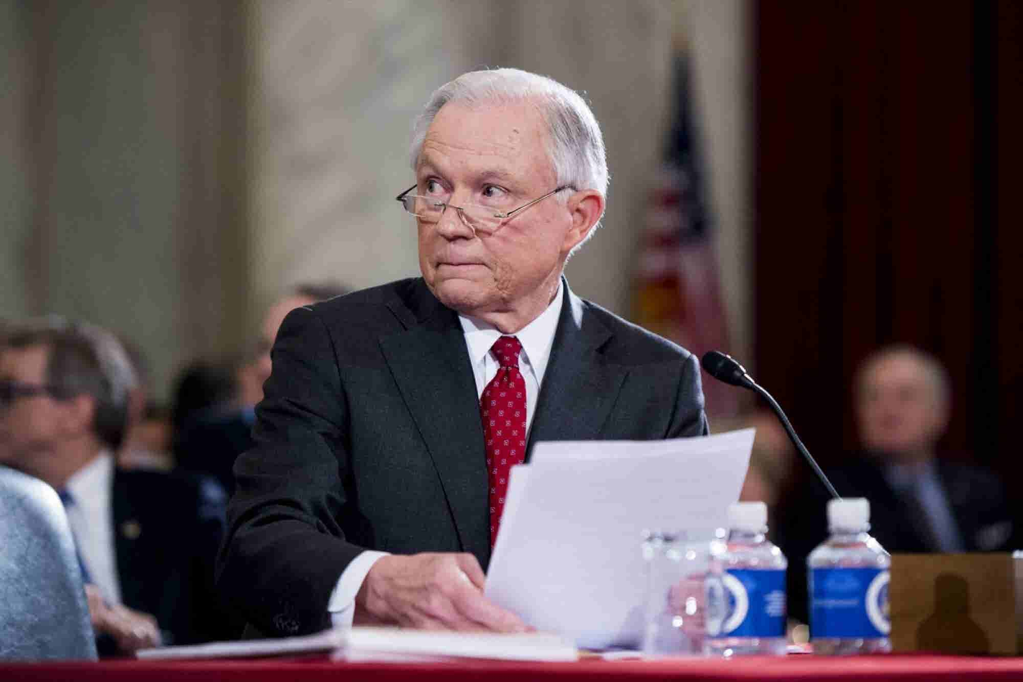 Jeff Sessions Offers Cannabis Industry No Reassurance