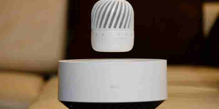 Float On: LG's New Levitating Portable Speaker