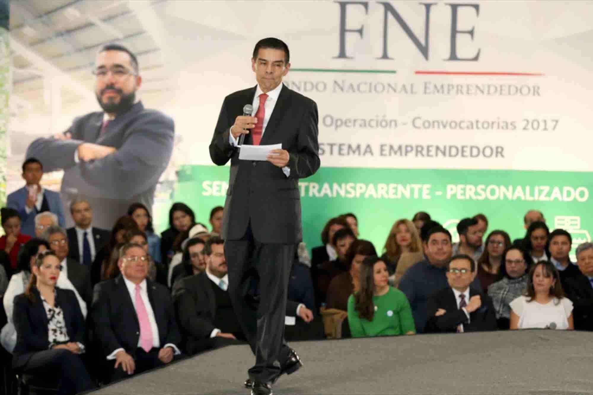 Enrique Jacob deja el Instituto Nacional Emprendedor