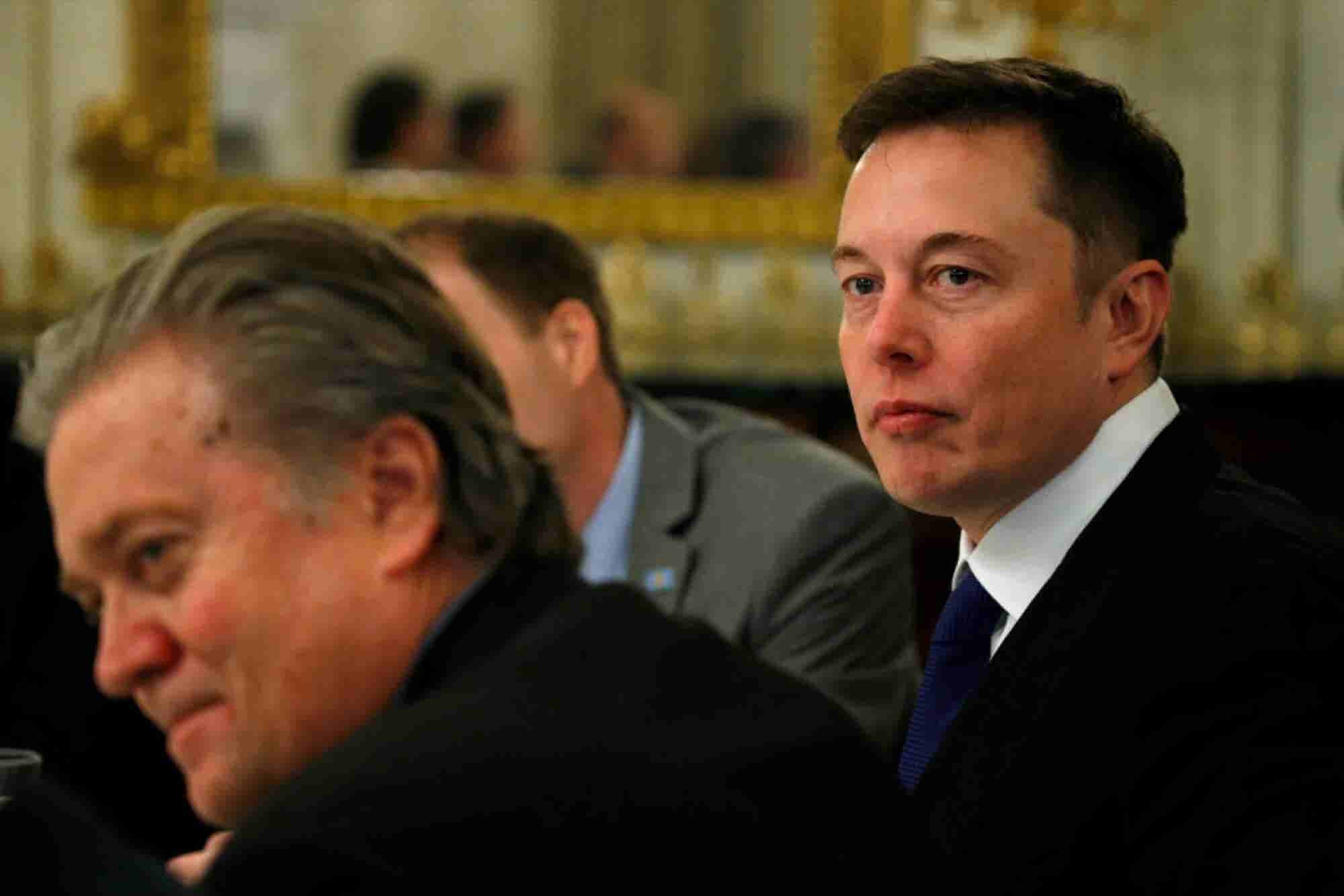 Elon Musk Says He Put Immigration Ban on Trump Council Agenda