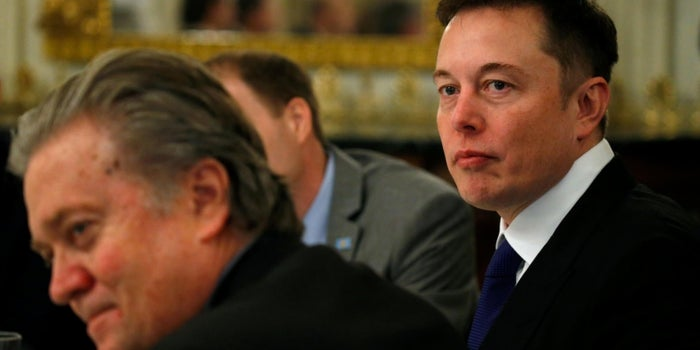 Elon Musk Says He Put Immigration Ban on Trump Council Agenda