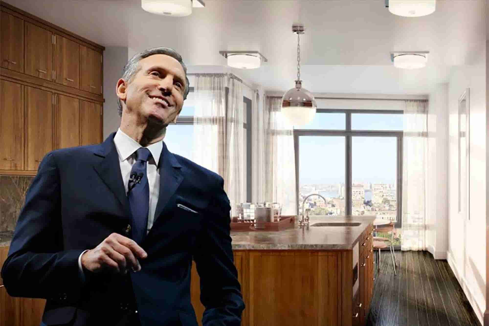 Tour The $40 Million Manhattan Penthouse Bought By Starbucks CEO Howard Schultz