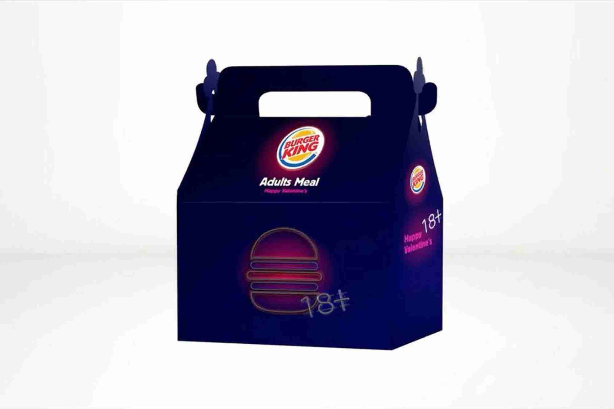 Burger Kings in Israel Will Offer Adult Happy Meals With Sex Toys Today