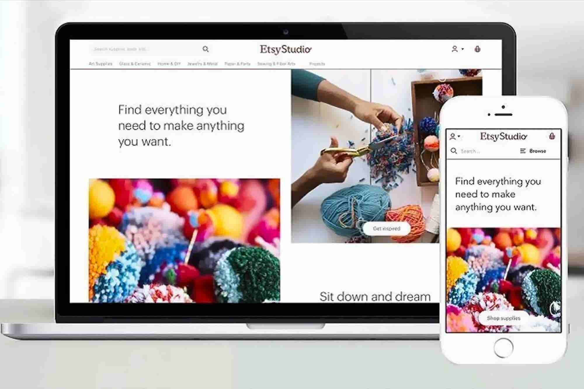 Etsy Takes on Craft Store Competitors
