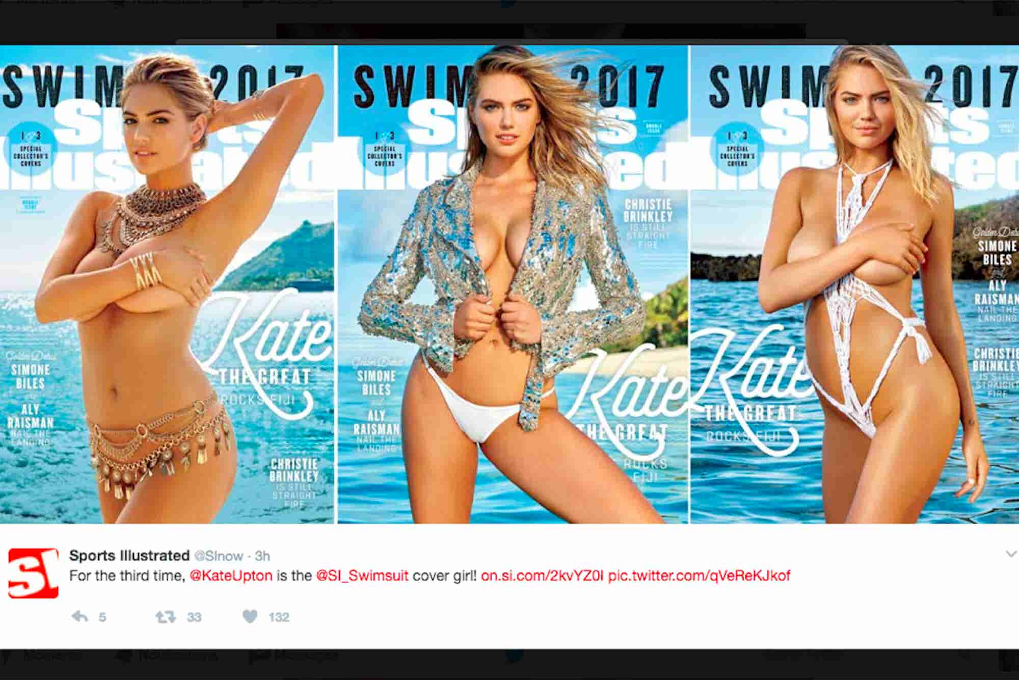 Kate Upton Returns as the Face of Sports Illustrated's Swimsuit Franchise