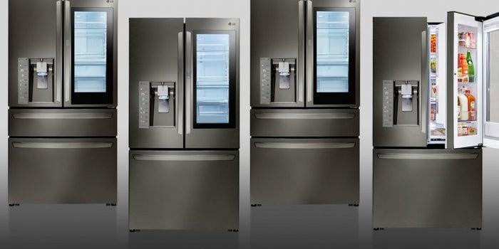Stay Cool: LG Smart InstaView Refrigerator