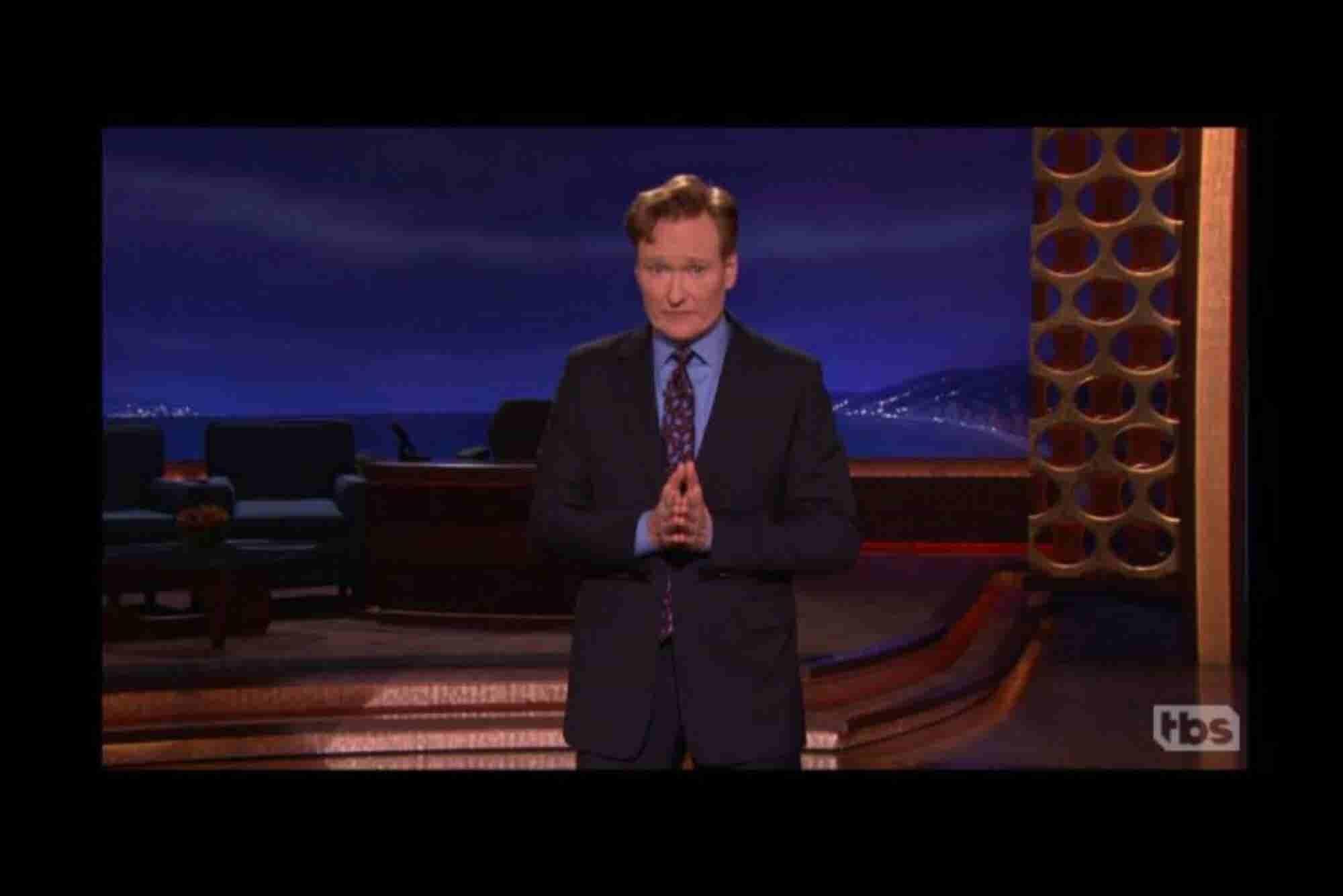 Así quiere mejorar Conan O'Brien las relaciones México - EU