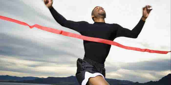 Focus on the Finish Line of The Goal Standard Challenge