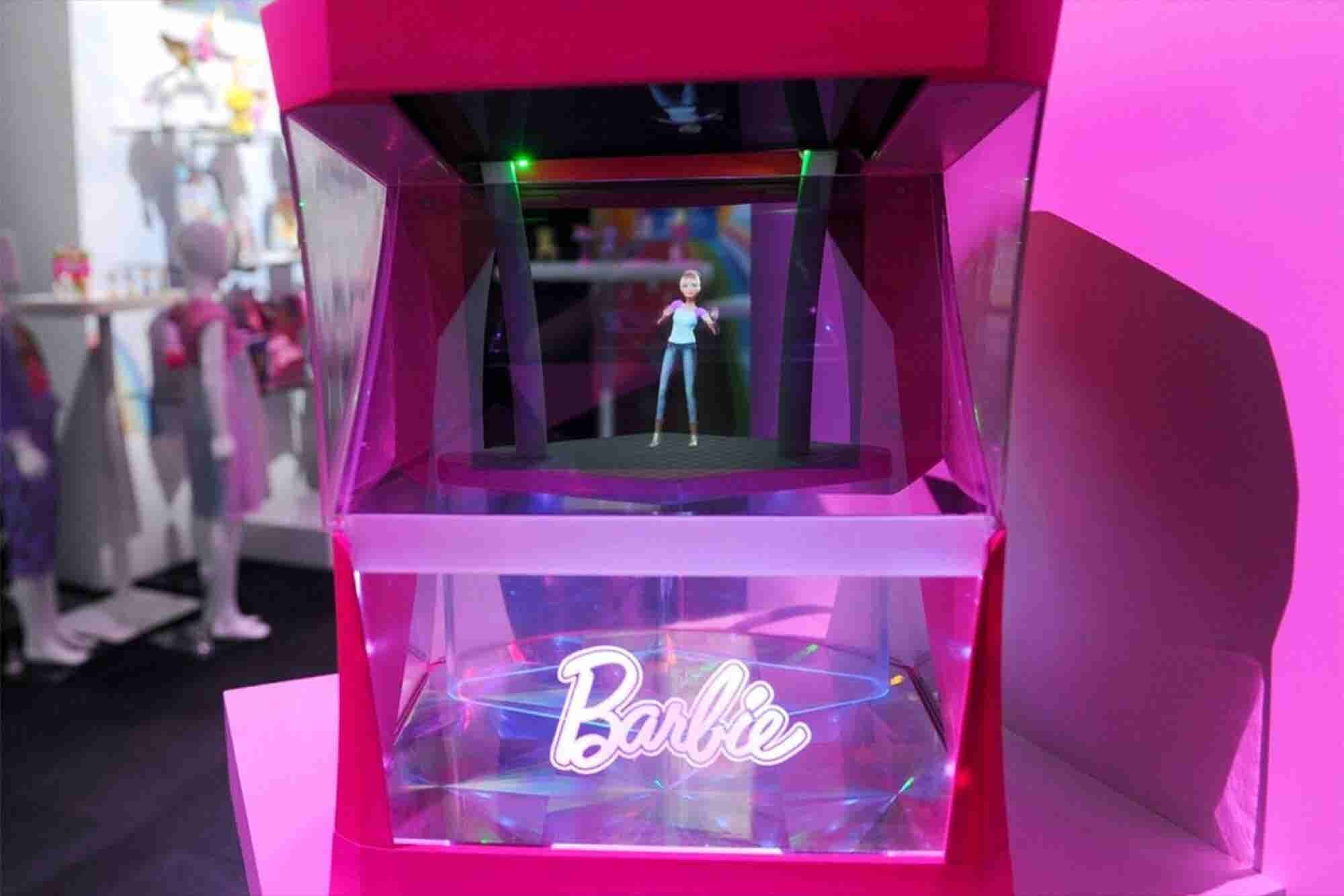 Barbie Is a Hologram and Now Even Playtime Is Automated