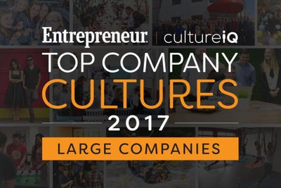 Large-Sized Companies: The Best Company Cultures in 2017