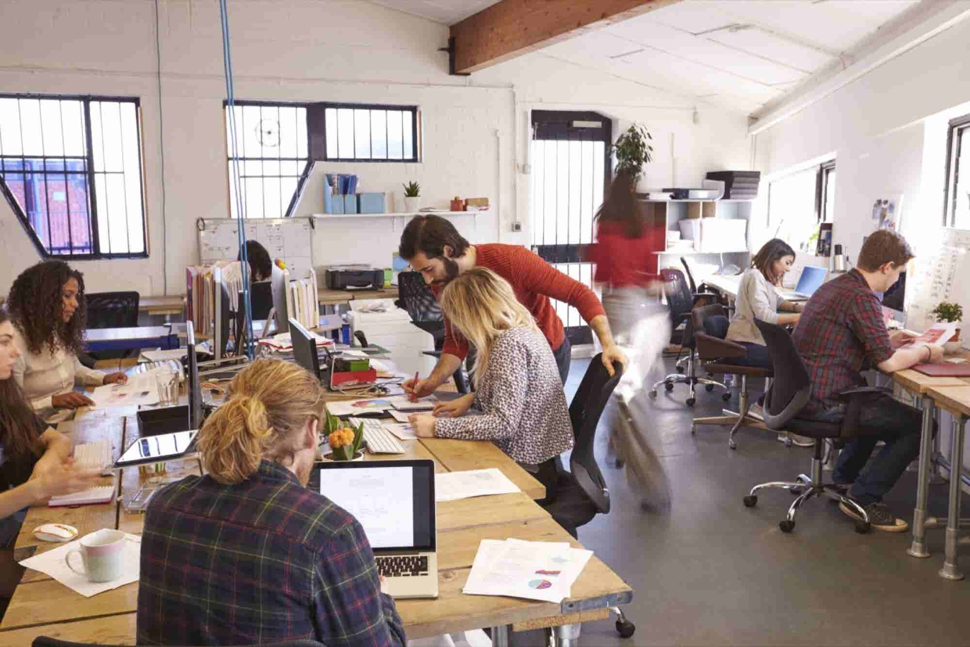 Are Open-Plan Offices Really The Way Forward?