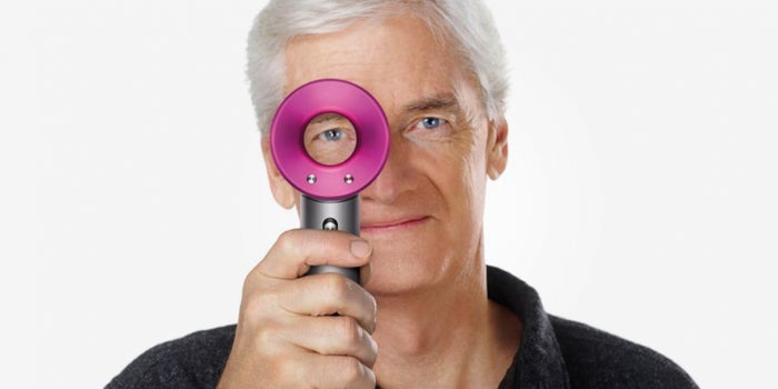 Dyson Files Patent for a 'High-Velocity' Hairbrush