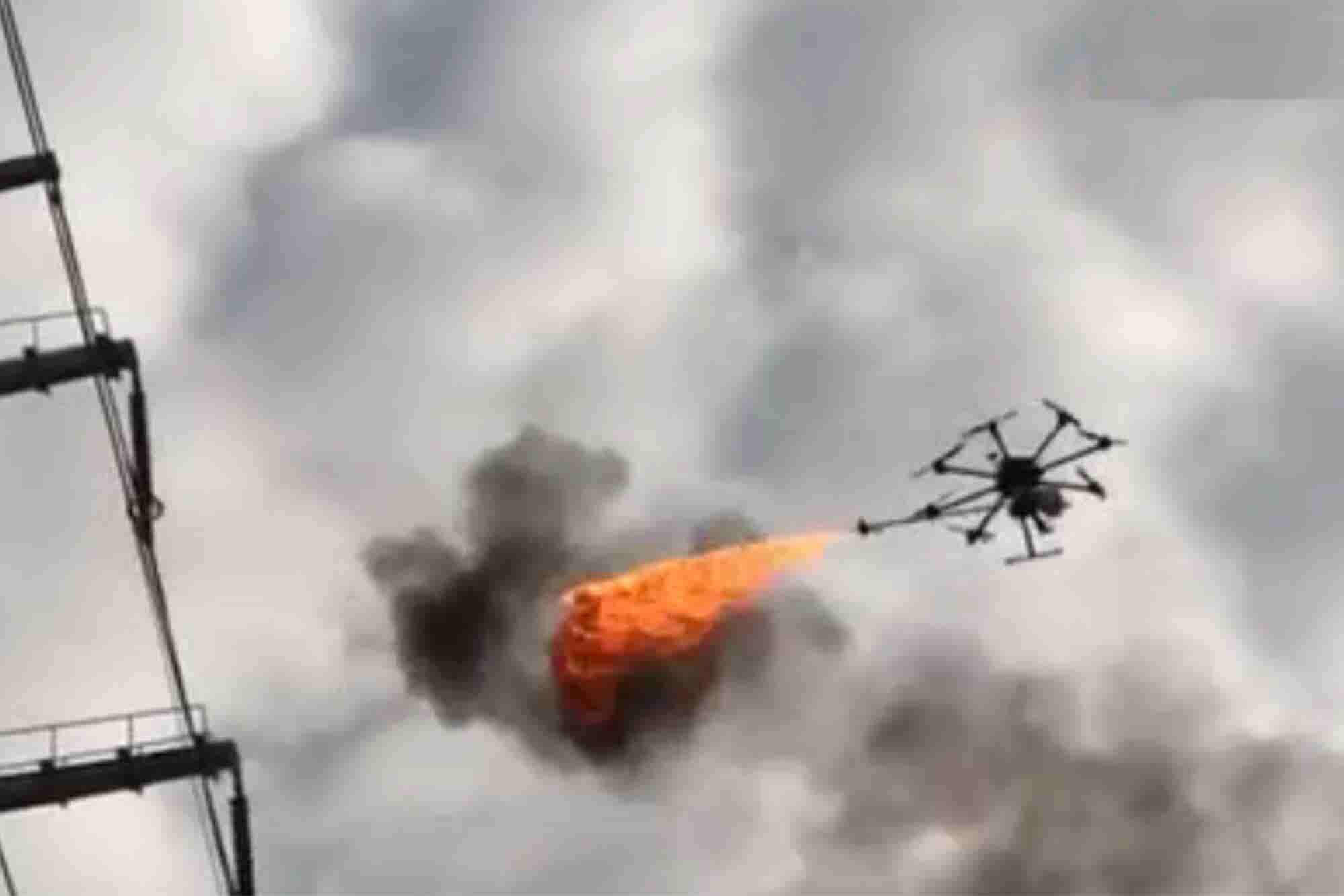 You'll Never Guess What This Fire-Spitting Drone Is Used For