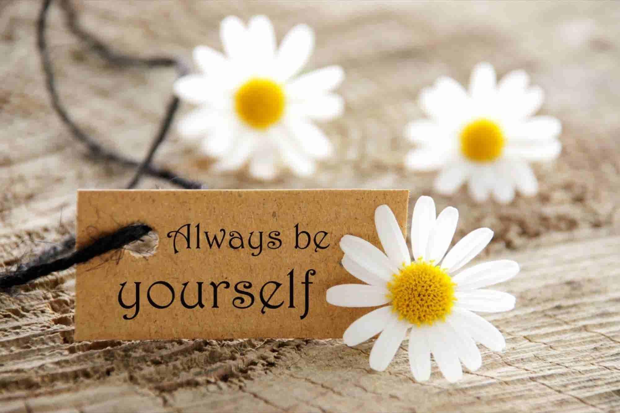 3 razones para ser tú mismo