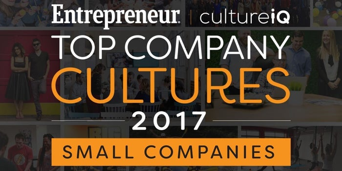 Small-Sized Companies: The Best Company Cultures in 2017