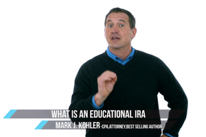 2-Minute Tax Tip: What's an Educational IRA?