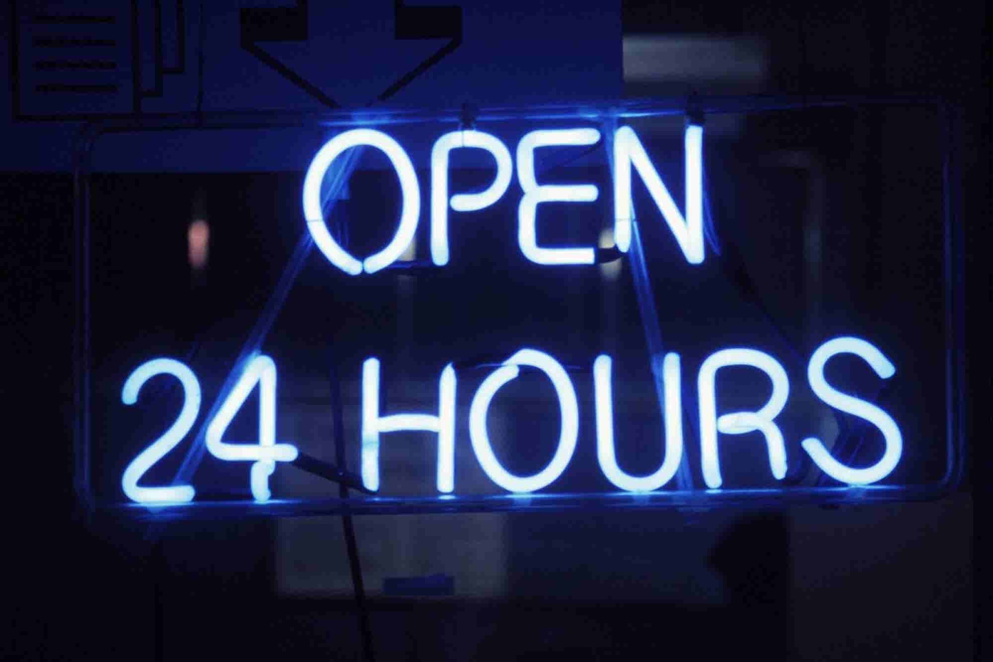 Here's How Your Business Can Be Open 24/7