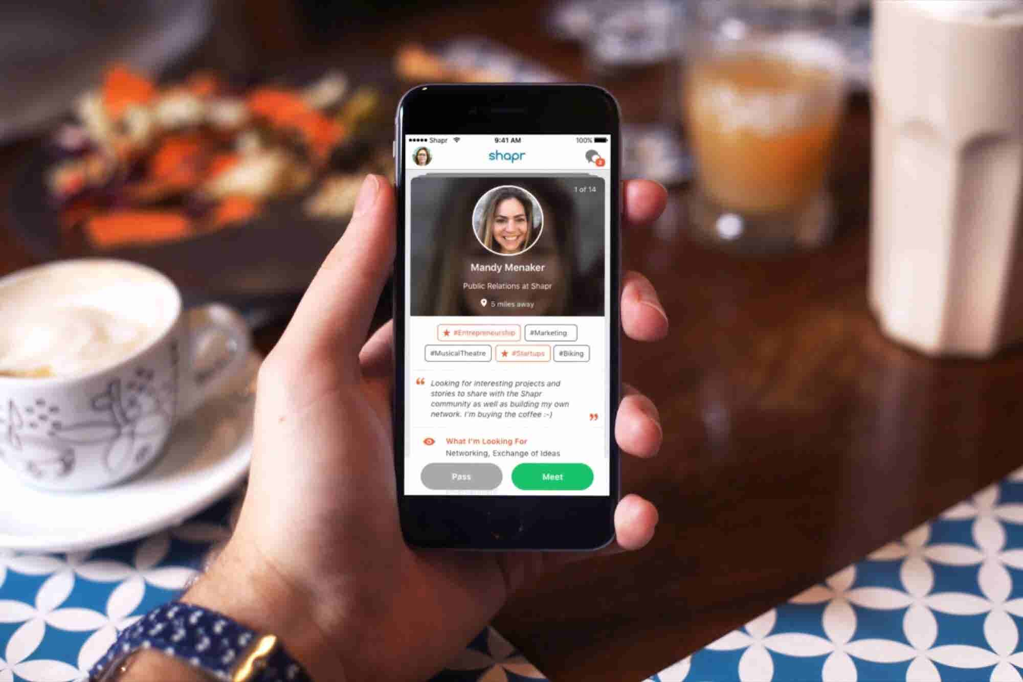 This App Will Help You Network More Mindfully