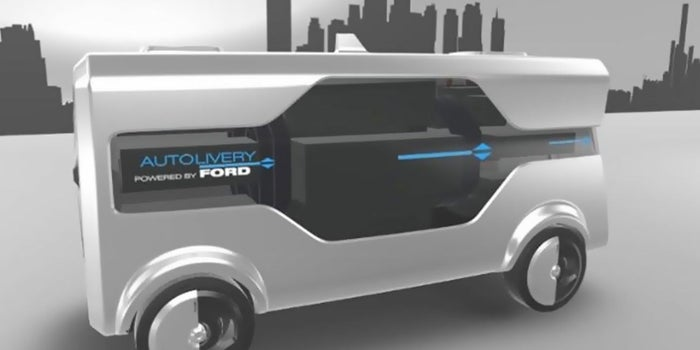 Ford Wants to Get in on Drone Deliveries, Too