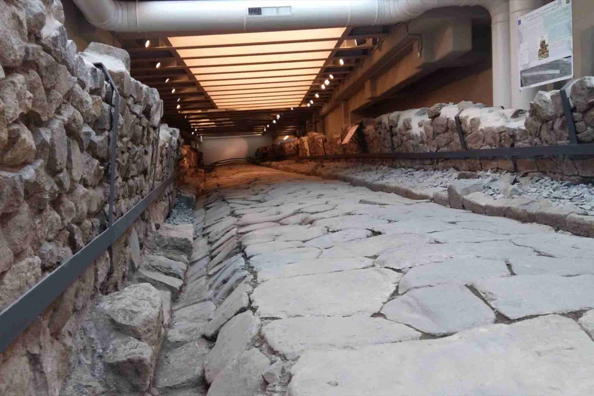 McDonald's Preserves Ancient Roman Road Beneath Its New Restaurant