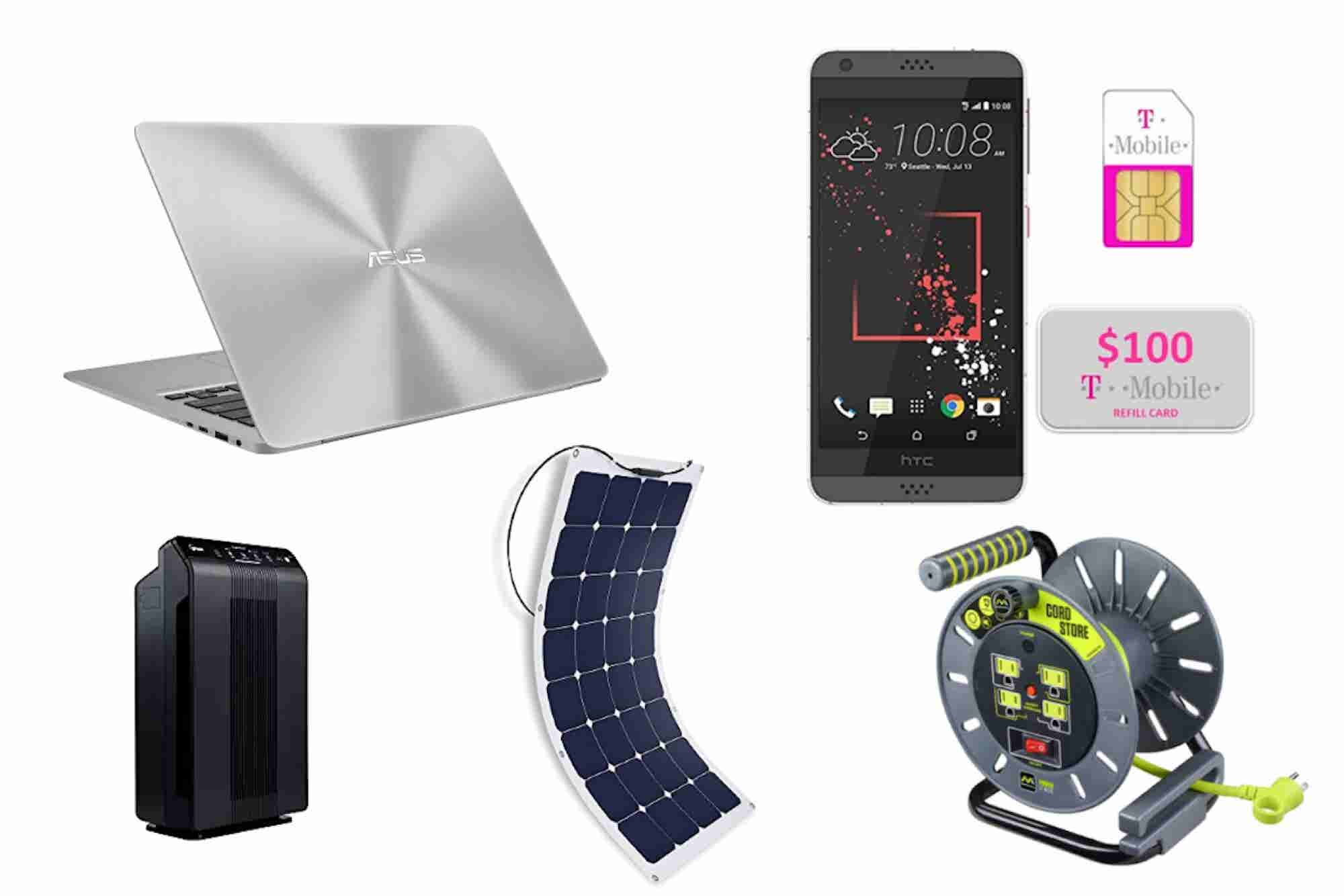 Spring Deals: Air Purifiers, Solar Panels and More