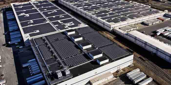 Tech Giant Amazon Wants To Run On Solar Energy