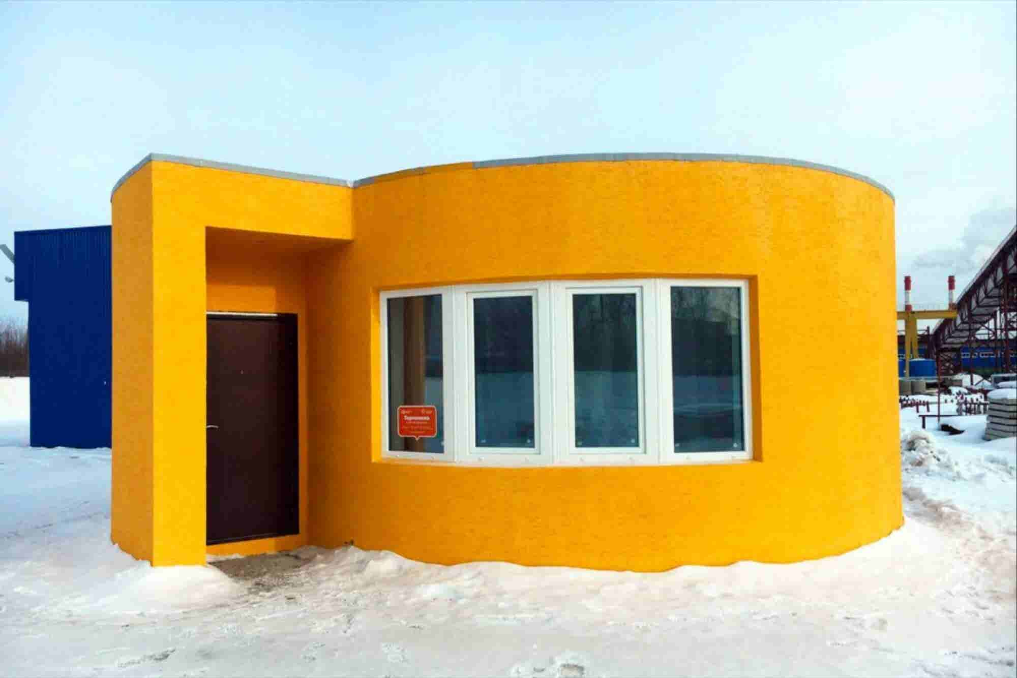 A San Francisco Startup 3-D Printed a Whole House in 24 Hours