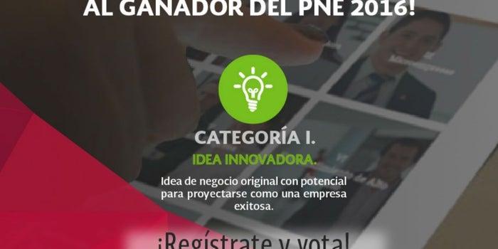 ¡Elige al ganador del Premio Nacional Emprendedor!