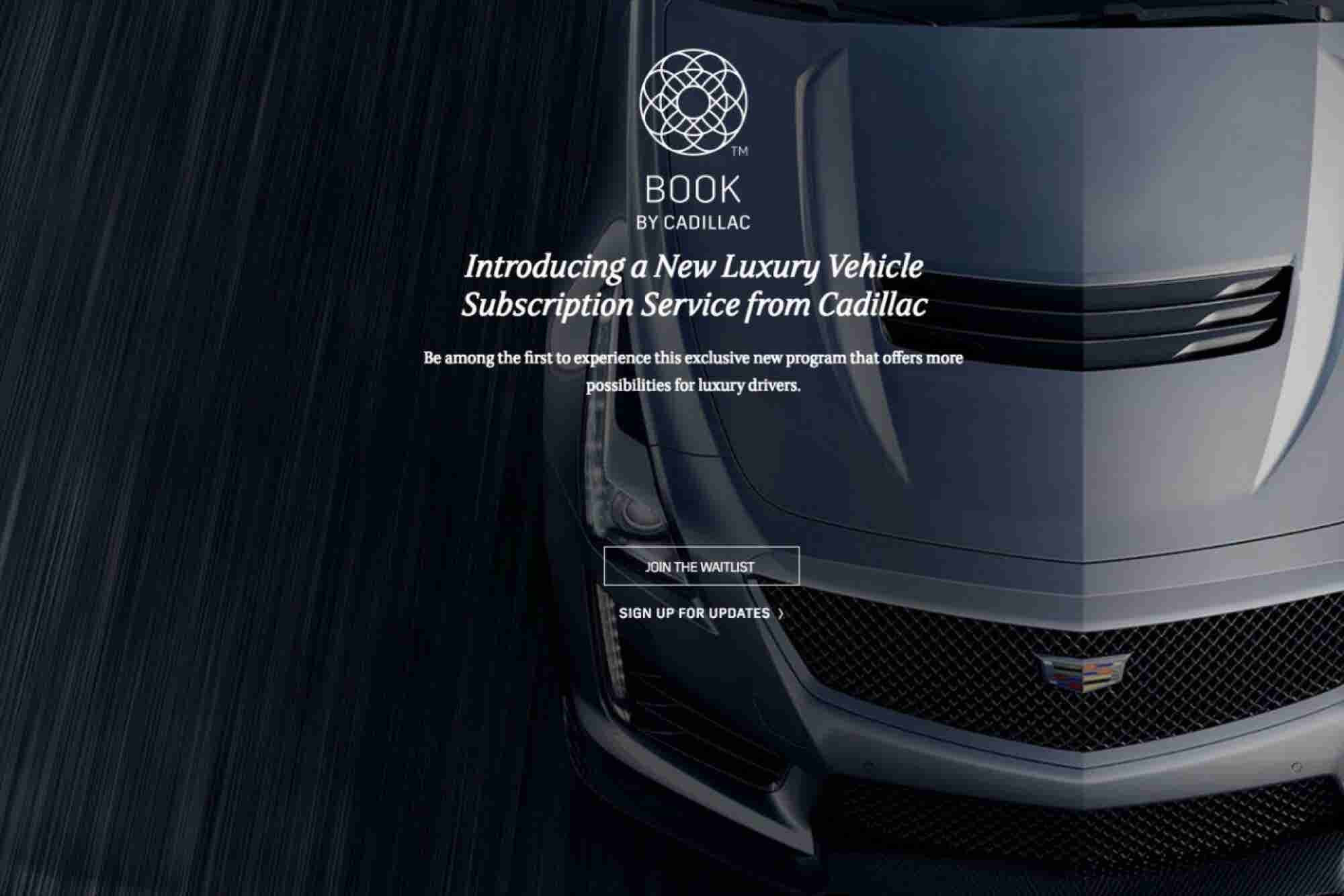 Now There's a Netflix-Like Service for Cadillacs