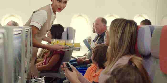Emirates Airline's New Commercial Pokes Fun at the New Electronics Ban