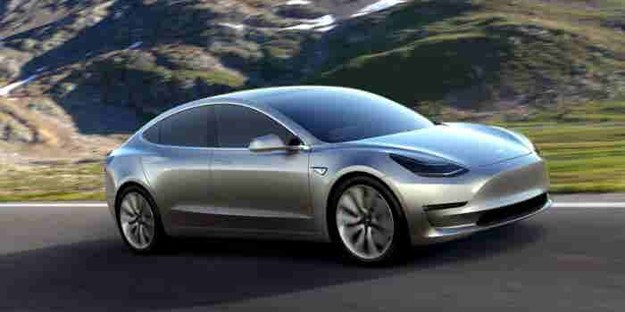 Elon Musk Offers Tesla Model 3 Sneak Peek