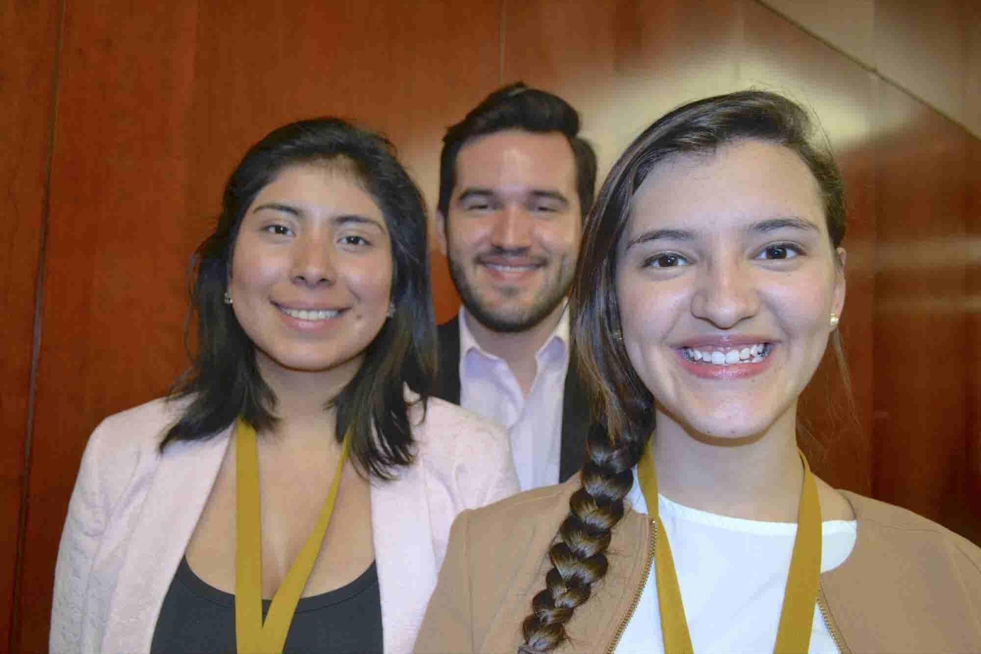 Los 3 jóvenes mexicanos que quieren ayudar a 10 millones de refugiados