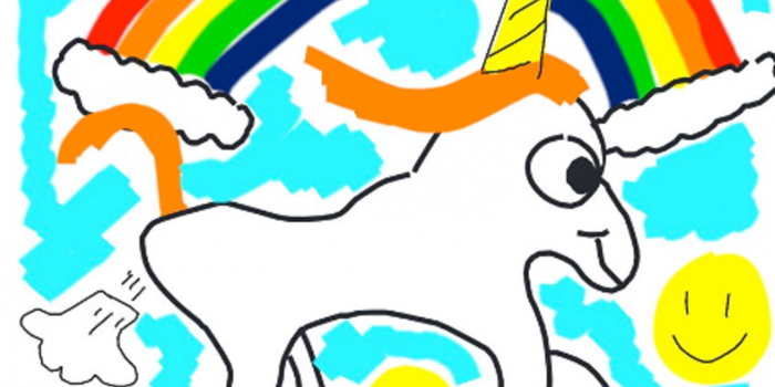 Of Course Elon Musk Used a Farting Unicorn to Show Off a New Tesla Feature