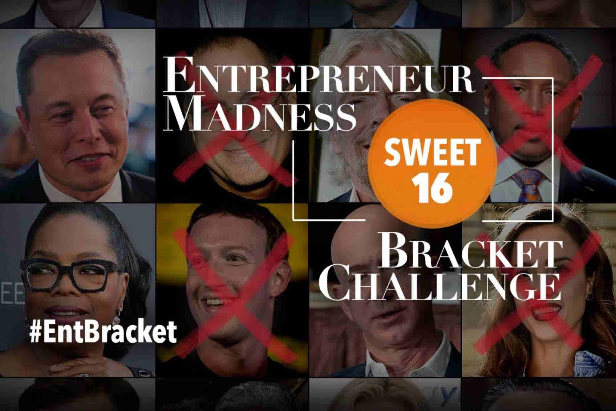 Sweet 16: Vote for the Best Entrepreneurs of All Time