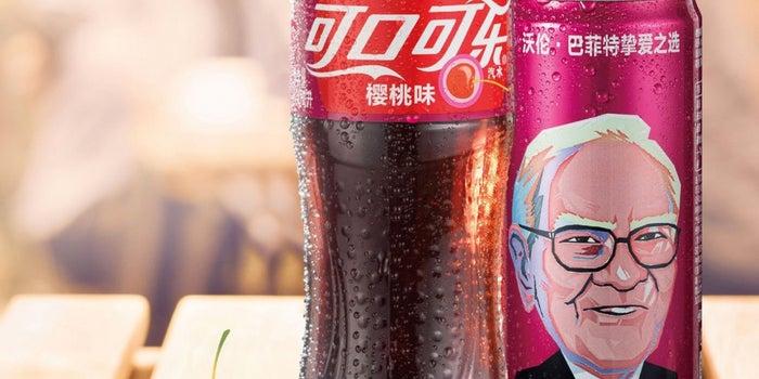 Warren Buffett's Face Will Be on Cherry Cokes in China