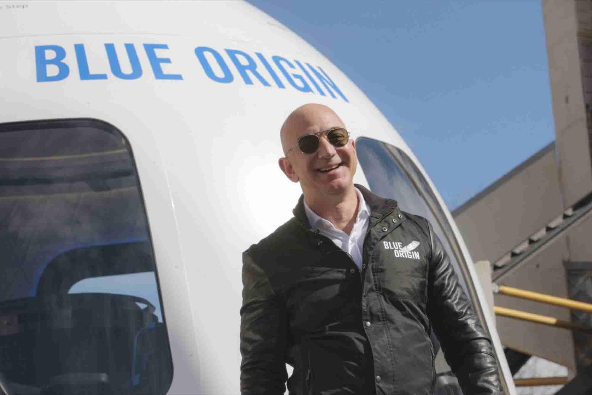 Jeff Bezos Will Sell $1 Billion of Amazon Stock a Year to Fund Blue Origin