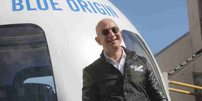 Jeff Bezos Will Sell $1 Billion of Amazon Stock a Year to Fund Blue Origin