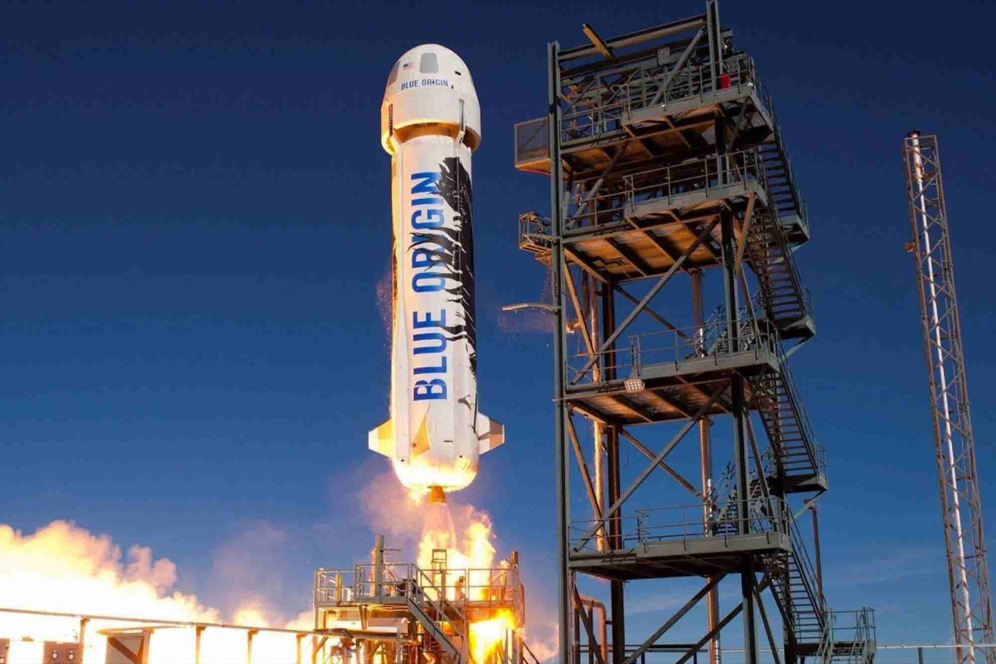 Blue Origin Space Tourists Won't Get Bathroom Breaks