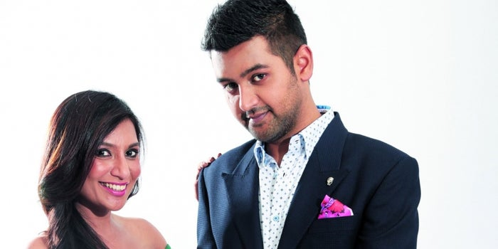 Here's Miss and Mr Malini