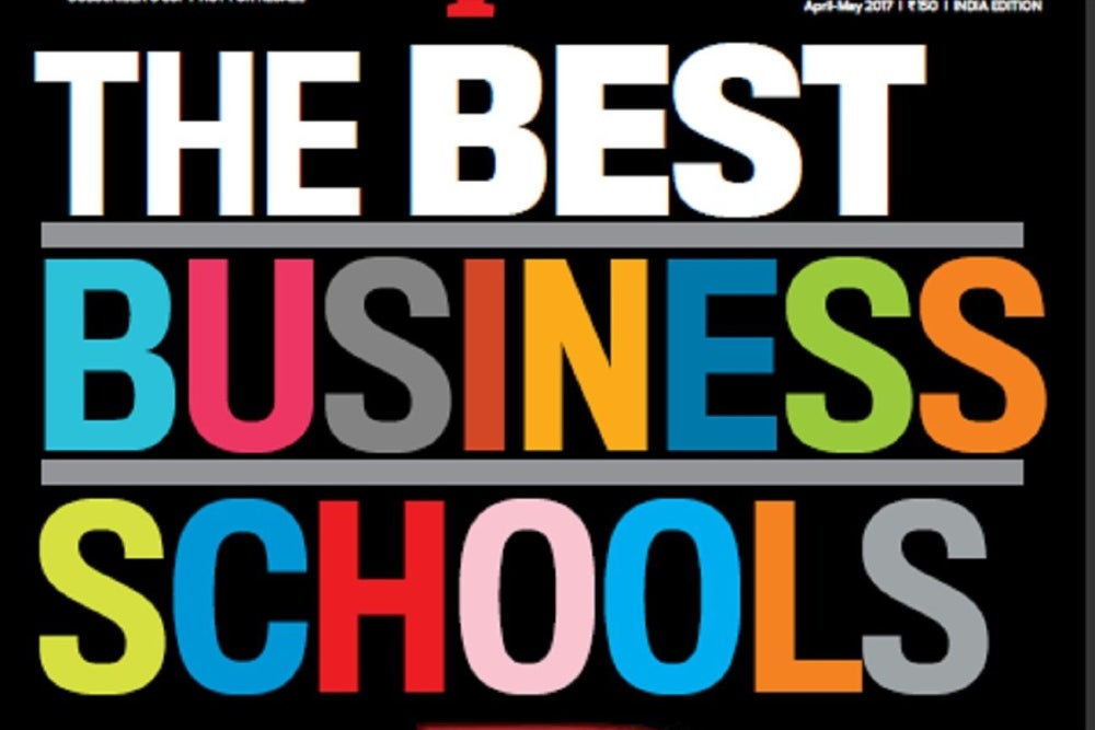 Entrepreneur B-School Survey 2017 Reveals Top #30 in India