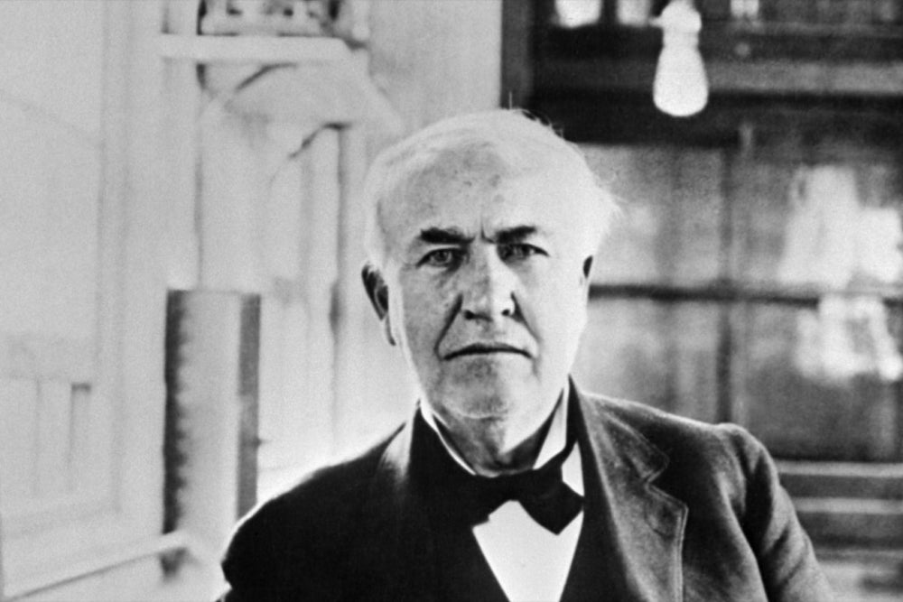 60 Thomas Edison Quotes To Inspire And Motivate You Stunning Thomas Edison Quotes