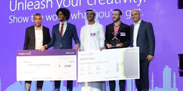 American University In Dubai Team Bags First Place At Microsoft's UAE Imagine Cup 2017